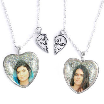 KYLIE & KENDALL FRIENDSHIP NECKLACES