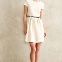 Manuscript Dress by 4.collective Ivory