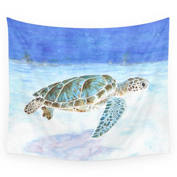 Society6 Sea Turtle Wall Tapestry