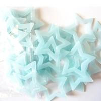 Mosunx Busines 40PCS Kids Bedroom Fluorescent Glow In The Dark Stars Wall Stickers