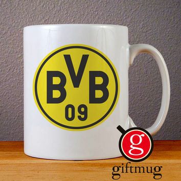 Borussia Dortmund Logo Ceramic Coffee Mugs