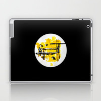 Yellow Submarine Laptop & iPad Skin by Claudia McBain