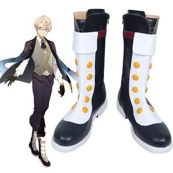 Fate Prototype Jekyll Hyde Cosplay Boots Shoes Custom Made