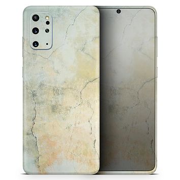 Rustic Cracked Textured Surface V3 - Skin-Kit for the Samsung Galaxy S-Series S20, S20 Plus, S20 Ultra , S10 & others (All Galaxy Devices Available)