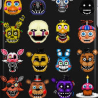 Five Nights at Freddy's - Pixel art - Multiple characters