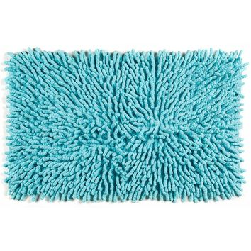 Sale !Cotton Chenille Bath Rugs | Turquoise
