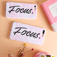 Phone Cases Secret For iPhone 6s Plus 6Plus Girl iphone 7 case focus popular iphone 6 case