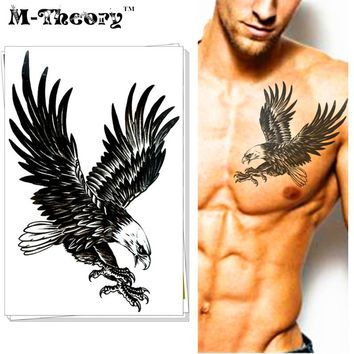 COOL Fashion Tattoo Stickers Water Transfer Temporary Body Art Waterproof 3-5 Days Animal Designs