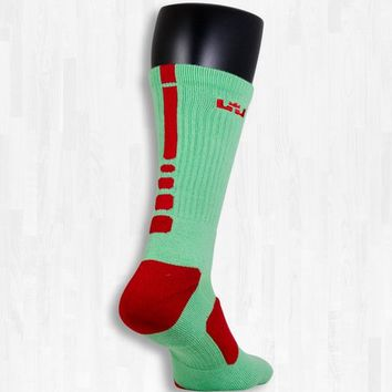 Lebron James Christmas Elite Socks | Rock 'Em Apparel