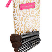 Gold Leopard Travel Brush Set - Victoria's Secret - Victoria's Secret