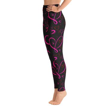 Valentines Day Heart Leggings