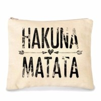 Hakuna Matata Make-Up Bag