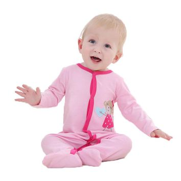 New Fashion Baby Romper Cartoon Body Suit Long Sleeve Newborn Clothing Kids Boys Girls Jumpsuit Baby Clothes Roupa Infantil 0-12