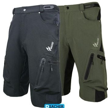 mens cycling bike bicycle ridding downhill mountain shorts  wear sportswear short bike outdoor  running trousers Lycra