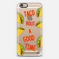 Taco Bout A Good Time - Foodie iPhone 6 case by Love Lunch Liftoff | Casetify