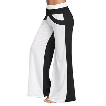 Causal Wide Leg Pants