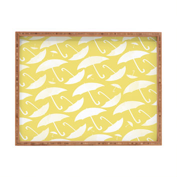 Allyson Johnson Umbrella Rectangular Tray