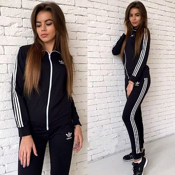 Women's Fashion Winter Print Long Sleeve Sportswear Set [9348163143]