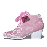 Y.R.U. for Women: Aura Lo Pink Ankle Bootie