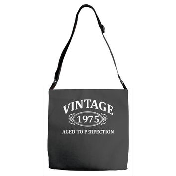 Vintage 1975 Aged to Perfection Adjustable Strap Totes