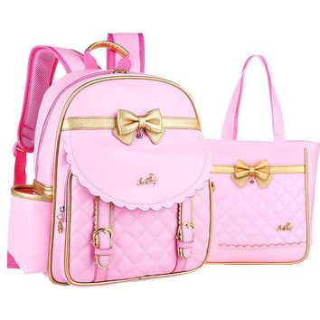 Boys Backpack Bag ZHIERNA Hot Fashion School Bags For Girls High Quality PU leather  kids Book Bag Cheap Shoulder Bag   AT_61_4