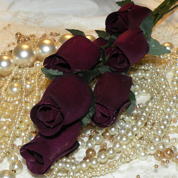 Wood Roses Wedding Roses Crafting Roses Valentines Day Roses Artificial Roses Long Stem Roses
