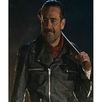 Jeffrey Dean Morgan The Walking Dead Negan Jacket - Desert Leather