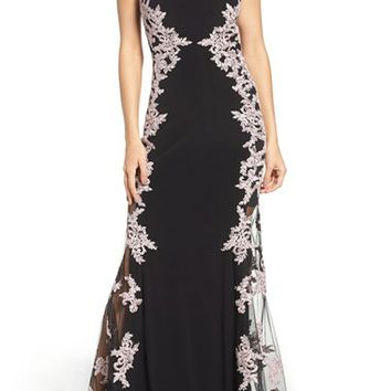 Xscape Stretch Gown   Nordstrom
