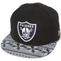 Oakland Raiders Nfl Snowflect Strapback Hat