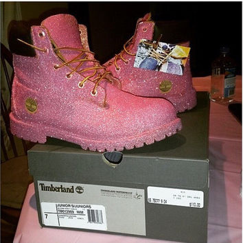 Sugar Timberlands Custom