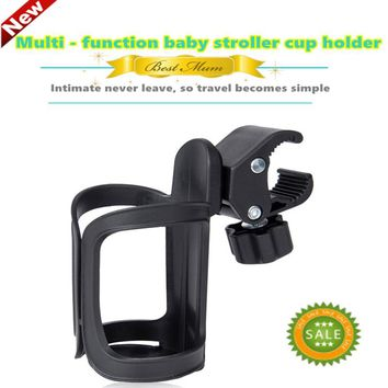 Baby stroller cup holder 360Universal Rotatable Holder Baby Stroller Parent Console Organizer Cup children's bicycle bottle rack