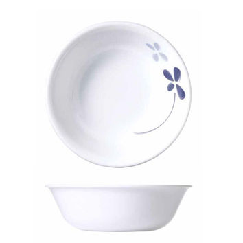 Corelle Cool Pansies Cereal Bowl