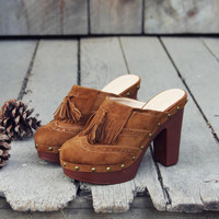 The 70's Tassel Wedges