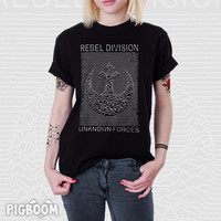 Rebel Division - Joy Division Rebel Alliance Star Wars Unisex T-shirt