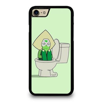 STEVEN UNIVERSE PERIDOT IN TOILET iPhone 7 Case Cover