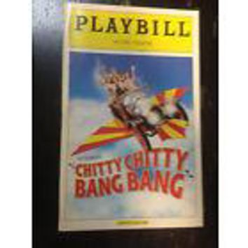 Chitty Chitty Bang Bang Playbill