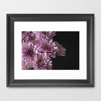 Pretty Little Flowers Framed Art Print by Maureen Bates Photography