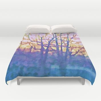Twilight Duvet Cover by lillianhibiscus