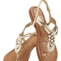 ModCloth Festival Plait Night Sandal