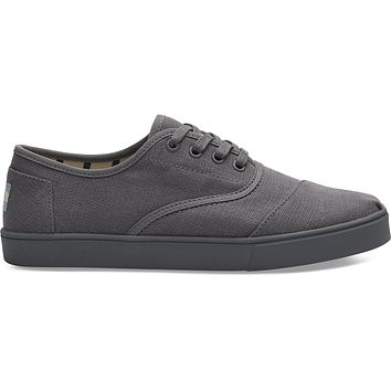TOMS - Venice Collection Shade Grey Heritage Canvas Men's Cordones Sneakers