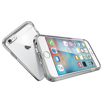 The Crystal Space Clear Ultra Hybrid Bumper iPhone 6/6s Case