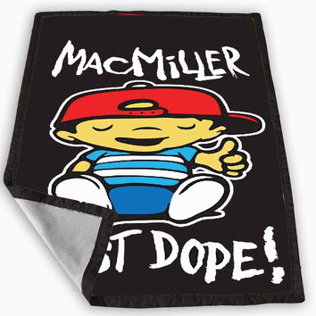 Mac Miller Most Dope Blanket for Kids Blanket, Fleece Blanket Cute and Awesome Blanket for your bedding, Blanket fleece *