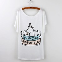 Unicorns Are Real Graphic T-Shirt