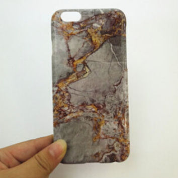 Newest Marble Stone Case Nano-materials Cover for iPhone 7 5s se 6 6s Plus + Free Gift Box 456+ Free Shipping