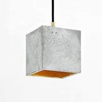 Concrete Hanging Light B1