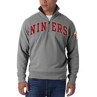 San Francisco 49ers - Striker 1/4 Zip Premium Sweatshirt