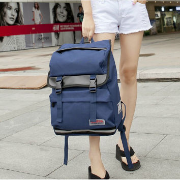 Korean Backpack Couple Stylish Travel Bags [8384616711]