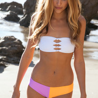 Eau Paix Vie Sadie bottom in purple/orange