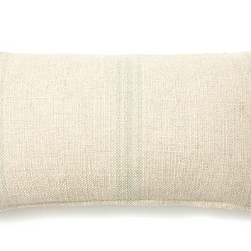French Laundry Home, Classic Striped 12x24 Pillow, Spa, Decorative Pillows