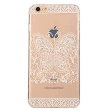 Creative Lace Butterfly Case Ultrathin Cover for iPhone 5se 5s 6s Plus Gift 42